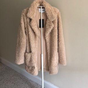Fashion nova teddy coat